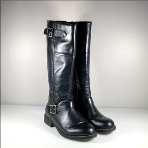 Kenneth Cole Reaction Faux Leather Riding Boots